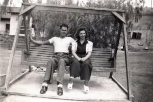 On the Swing (Photo courtesy of Judy Hitzeman)