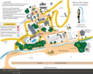 Resort Map (Artwork by Jerzy Aust)