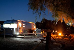 Glamorous Camping in a Flying Cloud Airstream - 1 of 2 (Photo by Kat Woronowicz)
