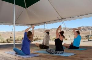 Yoga (Photo by Kat Woronowicz)