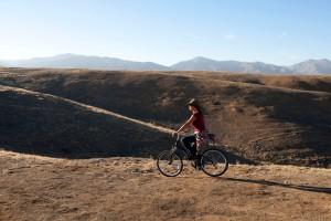Biking (Photo by Kat Woronowicz)