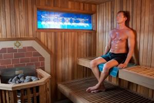 Dry Sauna (Photo by Kat Woronowicz)
